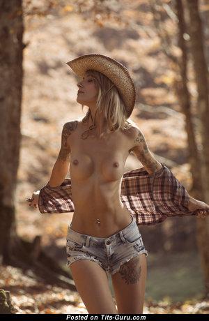 Allison Liselotte Duboi (anita Liselotte Baratta) - Exquisite Dame with Exquisite Bald A Size Tit & Tattoo (Hd Porn Photoshoot)