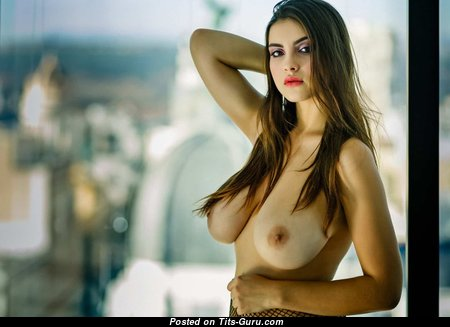 Perfect Babe with Perfect Exposed Real Tittys (Hd Porn Photoshoot)
