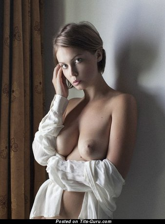 Image. Sexy topless amateur hot female pic