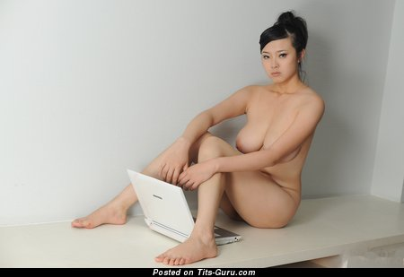 Image. Bing Yi - naked asian with big natural tits photo