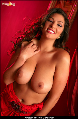 Amber Campisi - Graceful American Playboy Red Hair Babe with Graceful Defenseless Real Mid Size Knockers (Hd Sex Picture)
