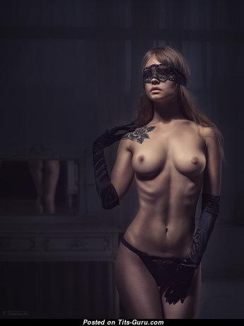 Anastasia Shcheglova - Charming Bimbo with Charming Bald Natural Firm Tit & Tattoo (Hd Xxx Image)
