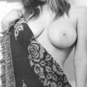 Awesome lady with big boob vintage