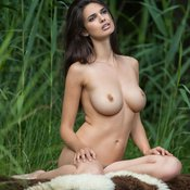 Jasmine Andreas - beautiful female with big breast photo