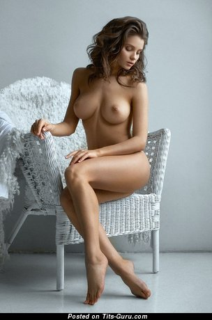 Image. Kristina Makarova - sexy nude amazing girl with medium breast photo