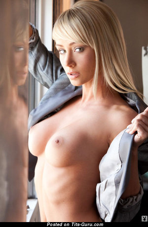 Nude awesome female with medium breast photo