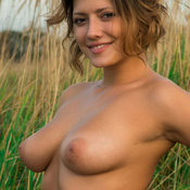 Liane B - sexy beautiful girl with medium natural breast photo