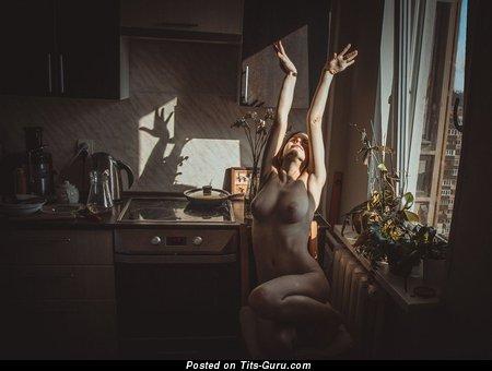 Image. Naked amazing girl with big natural boobies photo