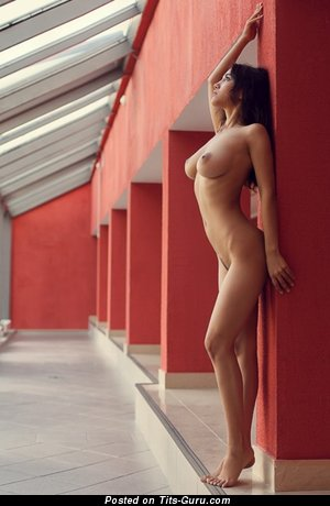 Manizha Faraday - nude amazing lady with medium natural breast pic