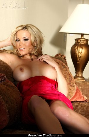 Image. Brea Lynn - sexy naked blonde with big natural boob image