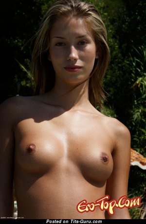 Gorgeous Babe with Gorgeous Open Real Medium Sized Titties & Tan Lines (Porn Picture)