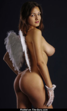 Superb Babe with Superb Bare C Size Boobs (Home Hd Xxx Pic)