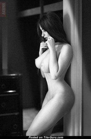 Алиса Котельникова - Adorable Brunette Babe with Adorable Bald Natural Ddd Size Knockers & Long Nipples (Hd Porn Pix)