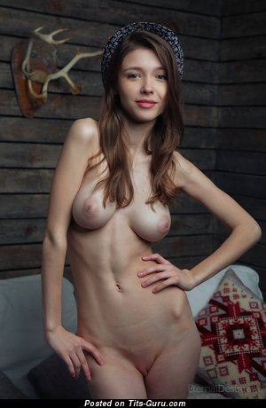 Image. Milla W - naked wonderful lady with medium natural tittys photo