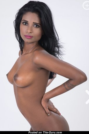 Image. Resha - sexy nude awesome lady with medium natural boobs pic