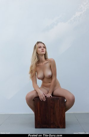 Image. Nude wonderful lady with big boobs photo