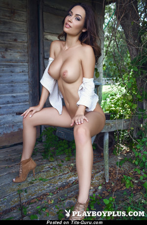 Image. Adrienn Levai - nice woman with big breast photo