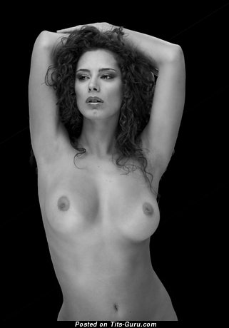 Image. Raffaella Modugno - naked wonderful woman with medium boobs image