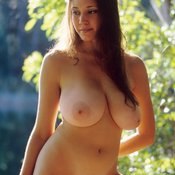 Miriam Gonzalez - nude brunette with big natural breast picture