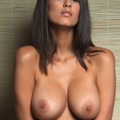Brunette with big tittys image
