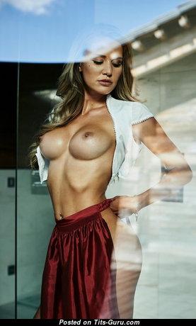 Julia Prokopy - Pretty Unclothed Playboy Blonde (Porn Wallpaper)
