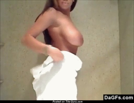 Image. Sexy topless awesome lady gif