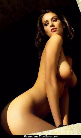 Zsuzsanna Ripli - naked beautiful woman with big natural tots picture