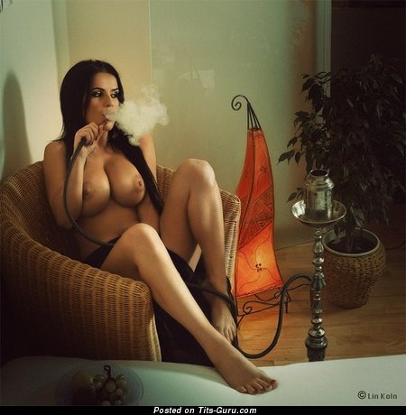 Image. Naked wonderful lady with huge tits pic