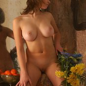 Katia Galitsin - beautiful female with big tittes photo