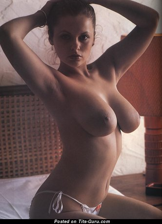 Joanne Latham - naked amazing woman with big natural breast image