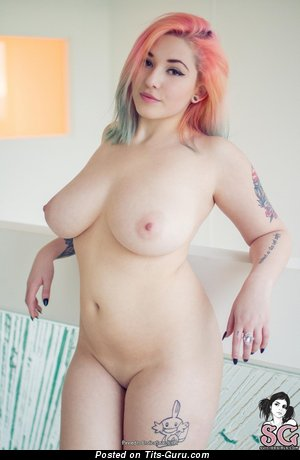 Sophoulla Suicide - Adorable Blonde Babe with Adorable Nude Natural Average Tits & Tattoo (Hd Sexual Picture)
