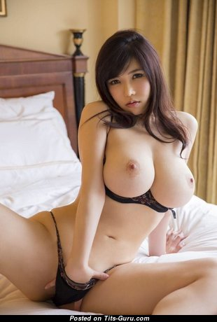 Good-Looking Topless & Glamour Asian Brunette with Erect Nipples in Panties is Undressing (Hd Sexual Photoshoot)
