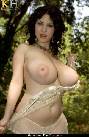 Image. Karina Hart - naked wonderful female with big natural boobies image