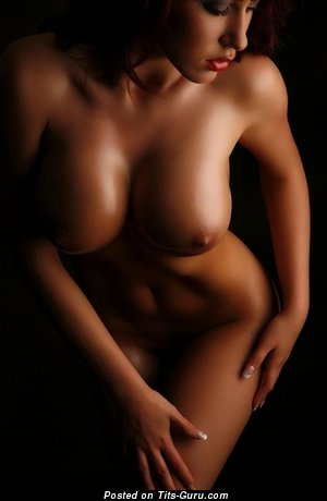 Image. Sexy naked nice female with natural boobs pic