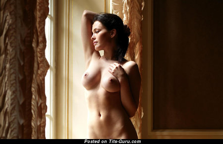 Image. Nude nice woman with big natural boob pic
