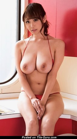 Image. Rara Anzai - asian with big natural tittes pic