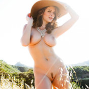 Hot lady with big boobies image