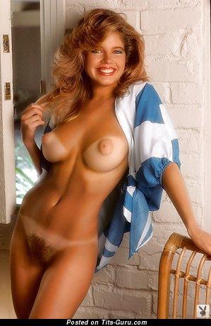 Image. Naked beautiful female with medium tittys vintage