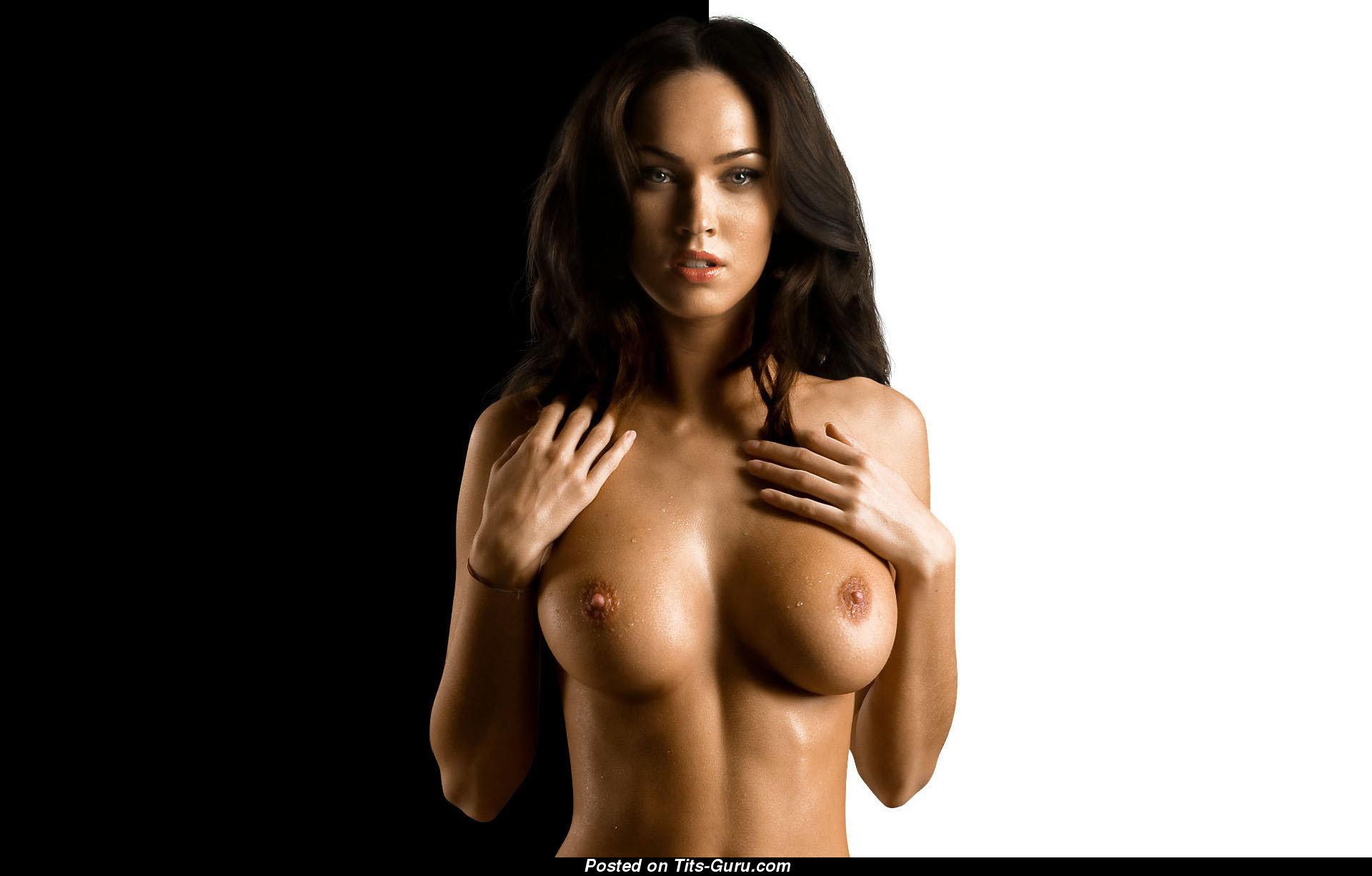 Megan Fox Nude Brunette With Medium Tittes Pic