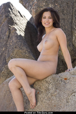 Image. Nude amazing female with natural tots photo