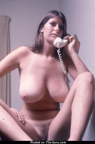 Image. Nude amazing female with natural breast photo