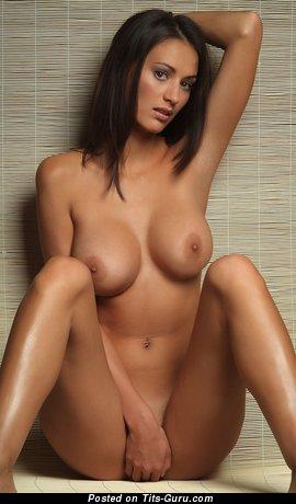Zsuzsanna Ripli - Dazzling Hungarian Dame with Dazzling Nude Medium Sized Melons (Hd Sex Photoshoot)