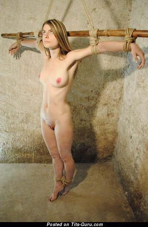 Изображение. Фотография сексуальной раздетой тёлки