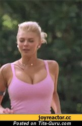 Image. Beautiful female with big natural boob gif