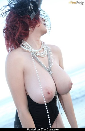 Image. Tessa Fowler - naked awesome woman with huge natural boob pic