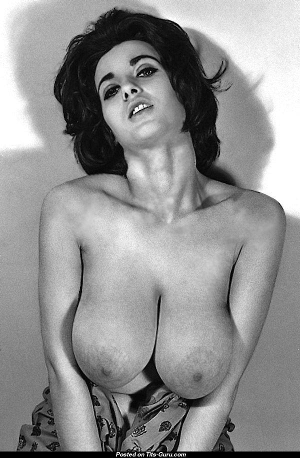 Vintage classic retro big tits boobs
