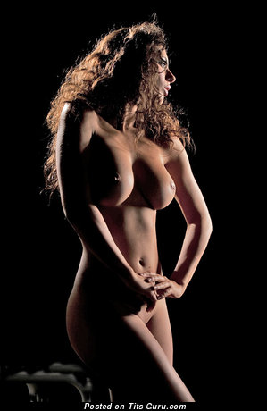Image. Raffaella Modugno - naked beautiful lady with big tittes photo