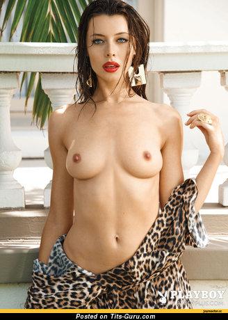 Image. Beautiful female with medium natural boob photo