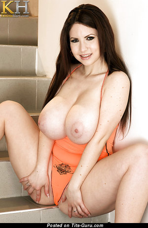 Image. Karina Hart - nude nice girl with huge natural tittes pic