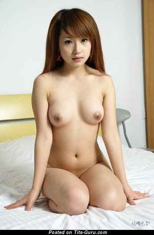 Image. Asian with medium natural tits photo